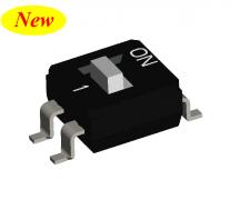 2PST IC Type DIP Switch: DI2F Series