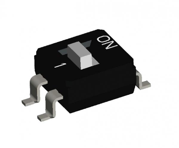2PST IC Type DIP Switch