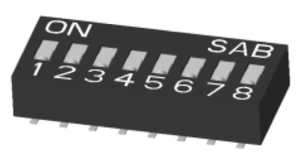 SPST Box Slide Type: SMD Lead