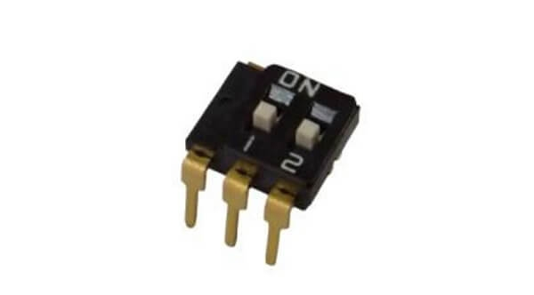 SPDT Multi-pole slide switch (One Common): Thru-hole Lead