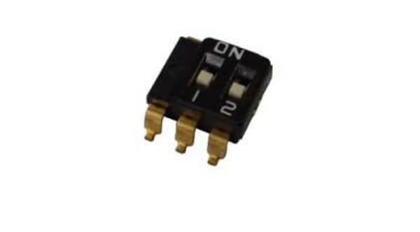 SPDT Multi-pole slide switch (Two Common): SMD Lead
