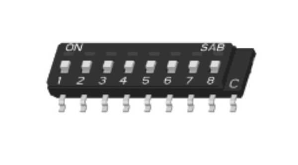 Single In-Line Package Switch : SMD Type