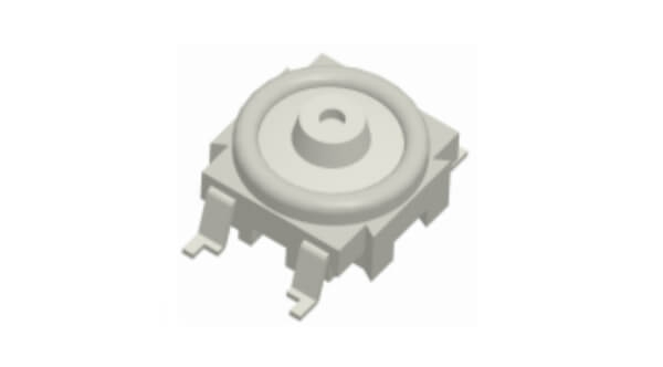 Subminiature Tact switch SMD type (WHITE color) for with cap