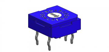 Thru-hole Type: 3+2 Pins