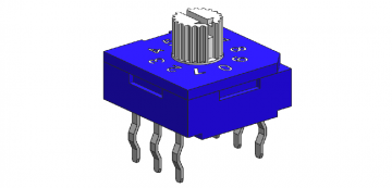Thru-hole Type: 3+3 Pins