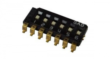 SPDT Multi-pole slide switch (One Common): SMD Lead