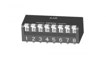 New Miniature Piano Type DIP Switch: SMD Lead