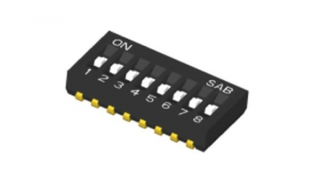 Half Pitch DIP Switch: 1.27mm J Lead